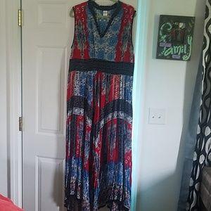 Bila XXL boho dress. Like new